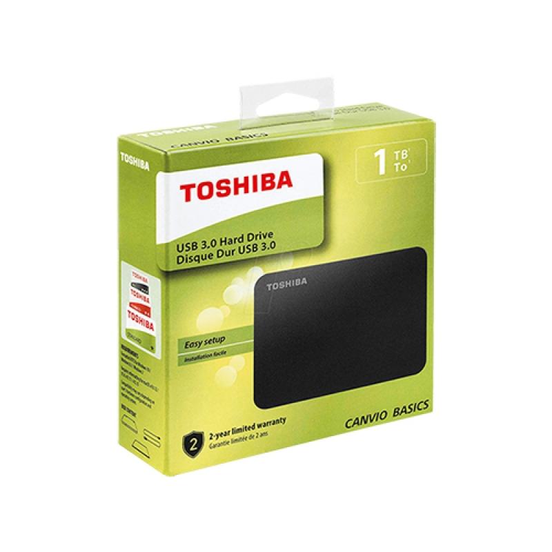 Toshiba Canvio Basics 1 TB USB HDD